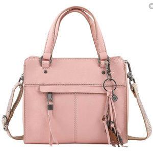 The Sak Alameda Satchel Crossbody - Petal Pink
